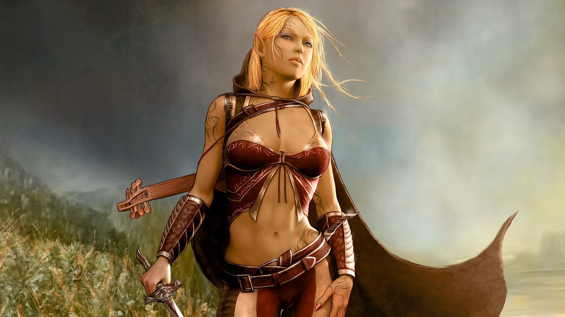 Free naked elves fantasy wallpapers pron toons