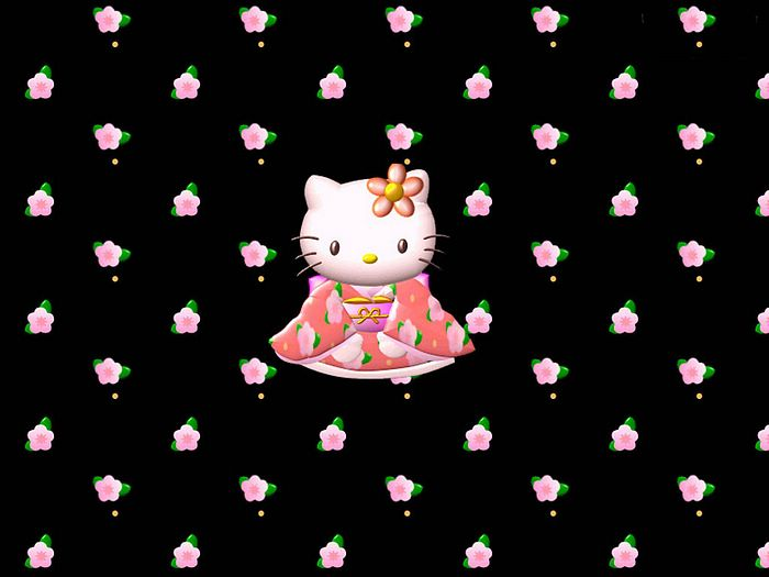 Hello Kitty Desktop. 日本卡通壁纸- HELLO KITTY