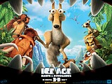 《冰河世纪3 Ice Age: Dawn of the Dinosaurs 》电影壁纸