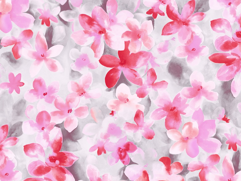 Artistic Flower Paintings Patterns Pictures1024 215 768第5张壁纸