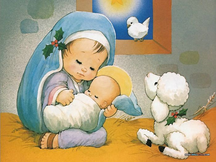 《the christmas story: the birth of jesus 》:玛利亚与圣婴 - 基督