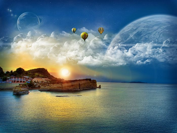 华丽合成风景壁纸 - 电脑合成风景 - Digital Landscape  - Photo manipulation Scenery wallpapers4