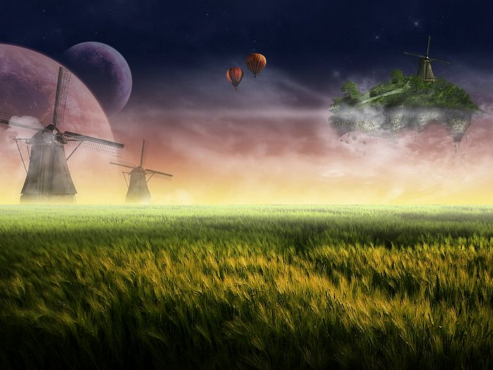 华丽合成风景壁纸 - 电脑合成风景 - Digital Landscape  - Photo manipulation Scenery wallpapers33