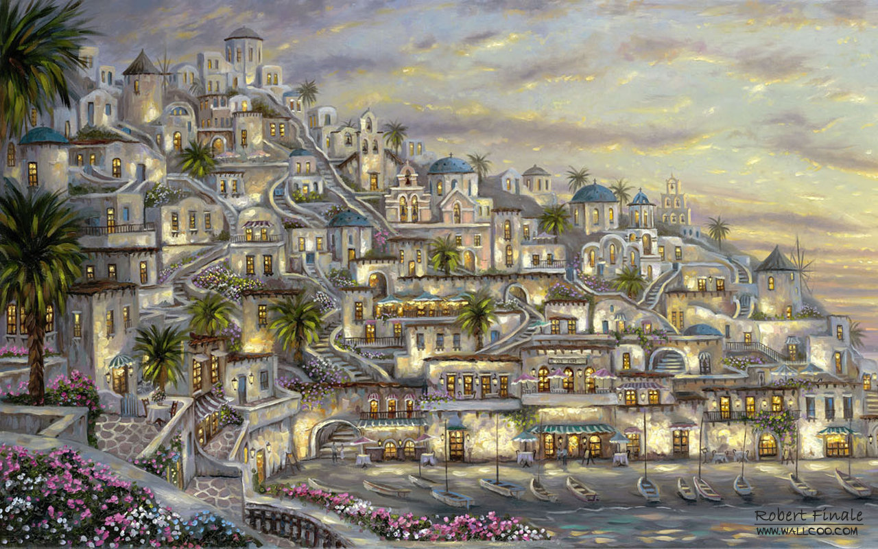 Robert Finale art paintings - Robert Finale canvas painting Wallpaper1280x800第16张桌面