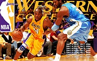 NBA Lakers 2009