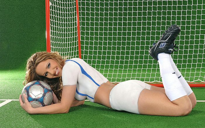 Soccer USA Body Painting